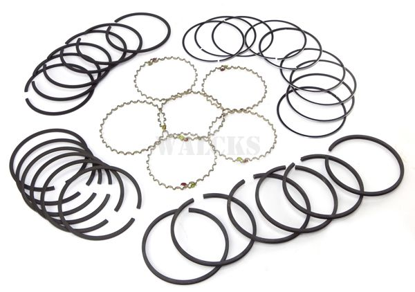 Piston Ring Set .040 Over 6-226 Super Hurricane