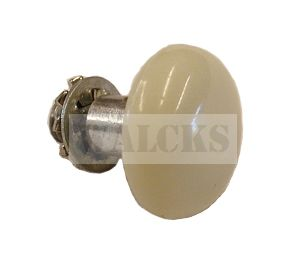 Door Lock Button, Ivory