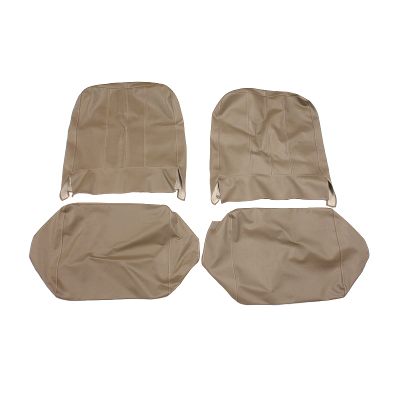 Seat Cover Assembly Left And Right Solid Dark Gray 1957-1964 CJ3B & 1955-1964 CJ5, CJ6 USA made