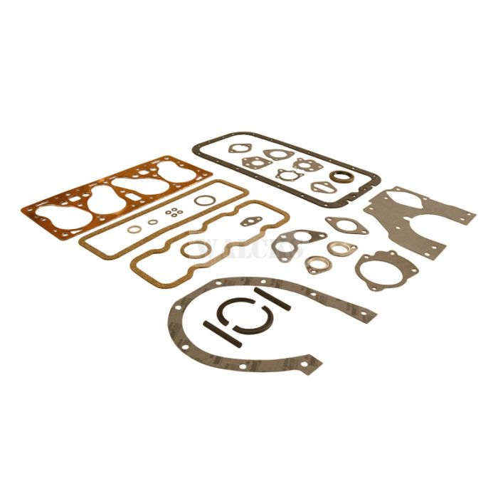 Engine Overhaul Gasket Set F Head 4 Cylinder USA Made With Copper Head Gasket