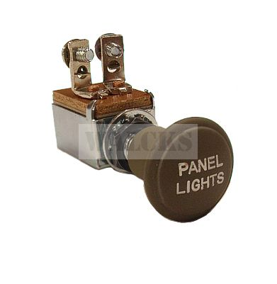 Panel Light Switch with Knob  MB, GPW