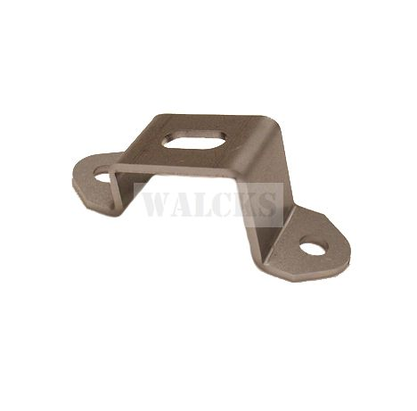 Grill Mount Bracket On Frame MB, GPW, CJ2A, CJ3A, CJ3B, DJ3A