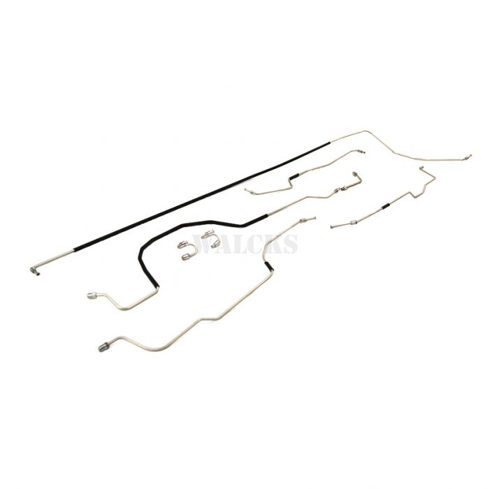 Brake Line Kit, Early CJ2A w/ 41 Rear Axle