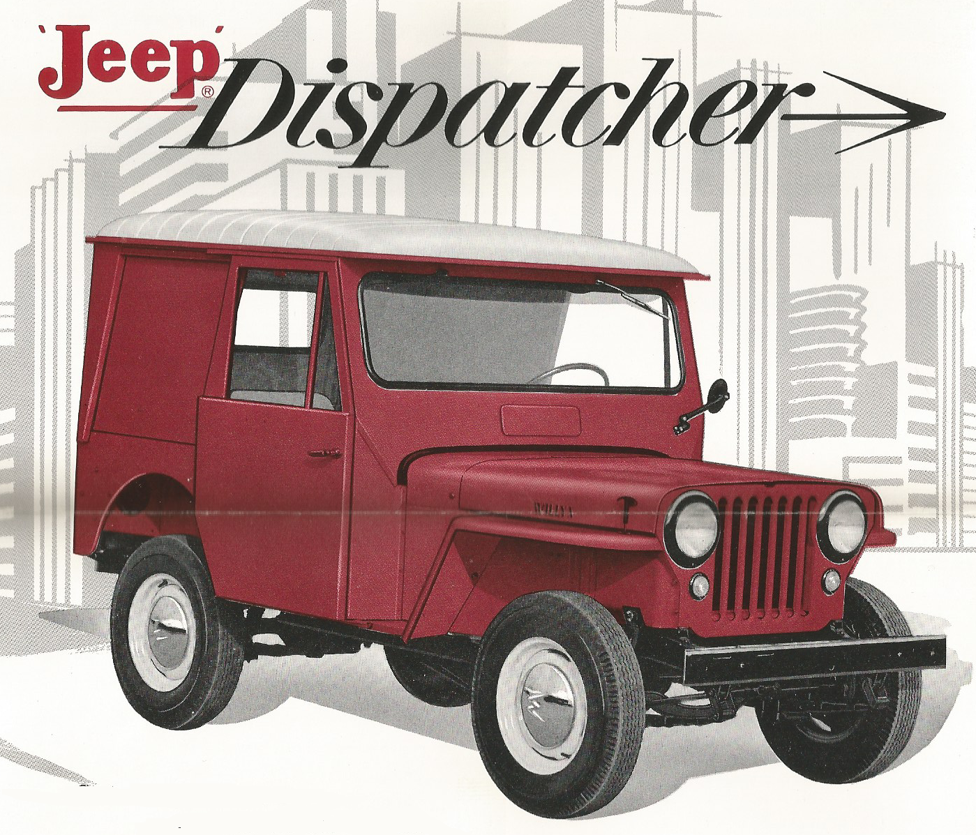 Jeep Model DJ-3A and Specifications