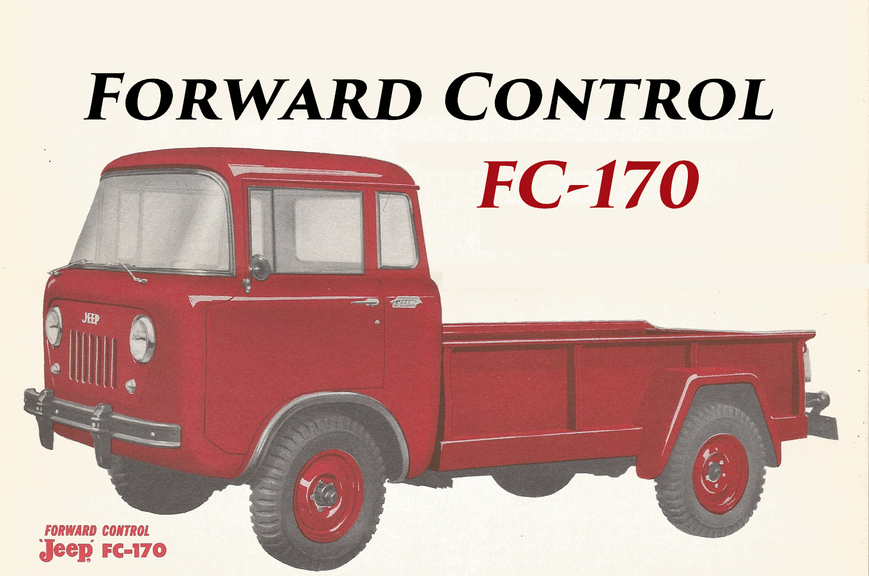 Jeep Model FC-170 and Specifications