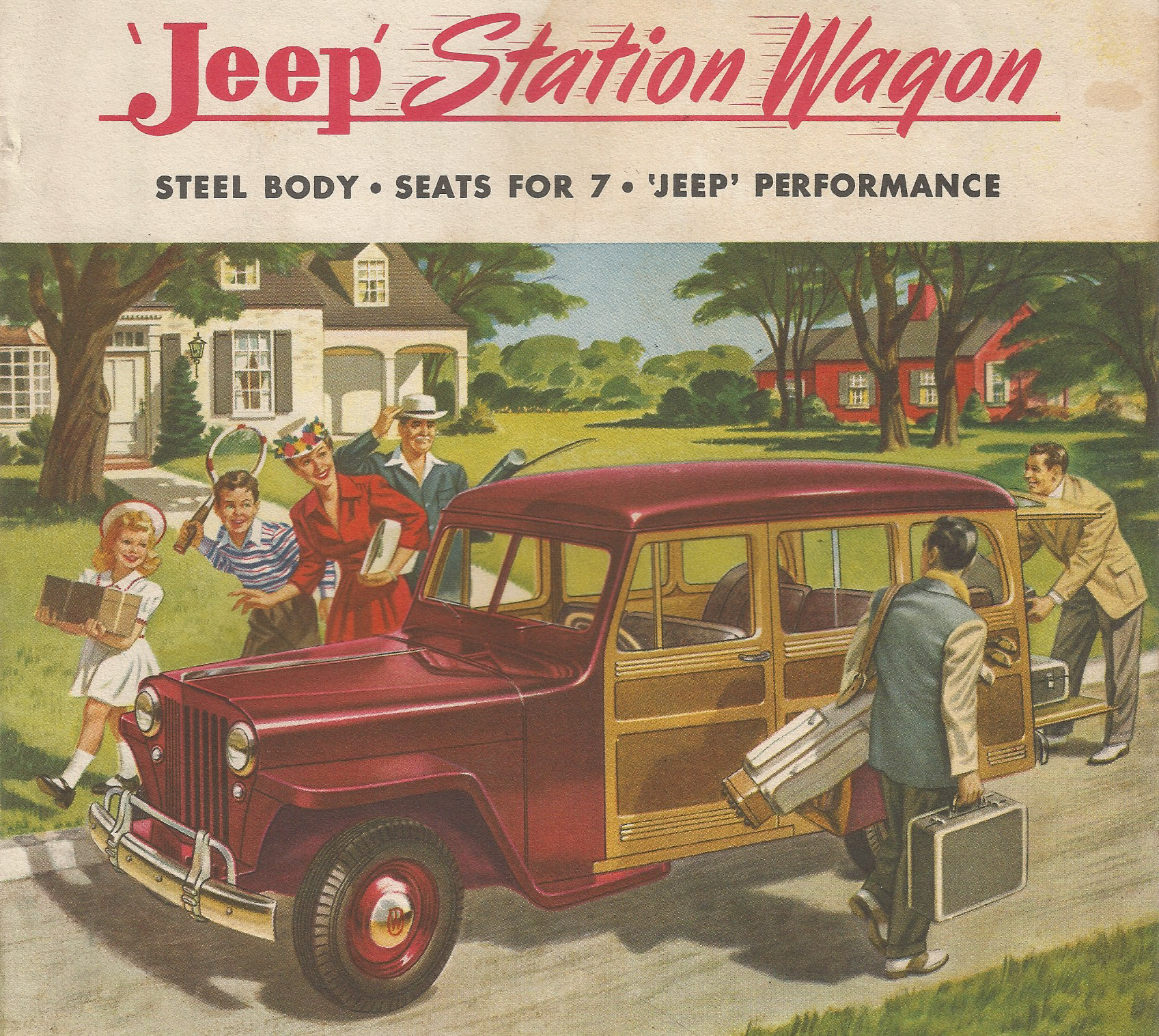 Model Jeep Station Wagon and Specifications