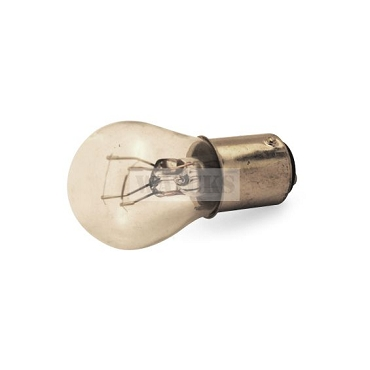 Light Bulb # 1176 12V Large Globe, Dual Filament, Alignment Tabs Straight Across