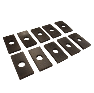 Mount Rubber Pads Kit for Pick Up Truck Bed