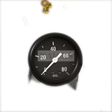 Oil Gauge MB, GPW, CJ2A Up To 1948