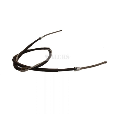 Emergency Brake Cable Rear 2WD Station Wagon, 2WD Sedan Delivery, Jeepster 1946-1955