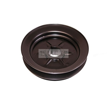 Crankshaft Pulley Single Groove L & F Head 4 Cylinder