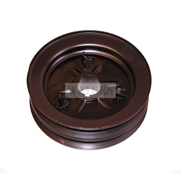 Crankshaft Pulley Double Groove L & F Head 4 Cylinder