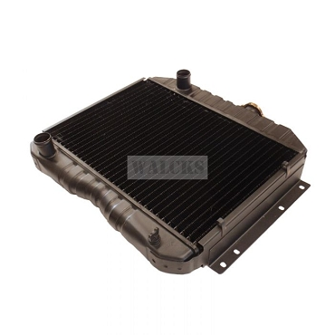 Radiator Assembly Side Mount CJ3A, CJ3B, DJ3A, F Head Truck, Station Wagon, Sedan Delivery, Jeepster