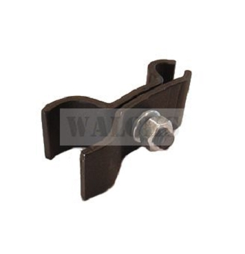 Clamp Windshield To Top Bow Rod Left CJ2A 1945-1949