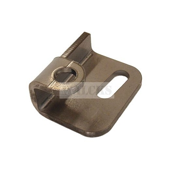 Tailgate Chain Body Bracket Left Side 1945-1975 CJ2A, CJ3A, CJ3B, DJ, CJ5, CJ6, M38