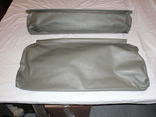Rear Seat Covers For Short Back Rear Seat Olive Drab CJ2A 1945-1949 USA made