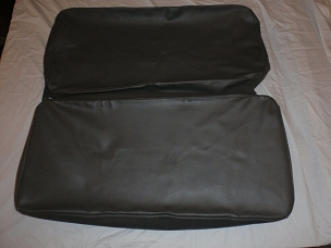 Rear Seat Covers For Long Back Rear Seat Dark Gray CJ3A USA made