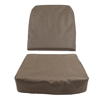 Seat Cover Drivers Or Passengers Slate Grey 1949-1956 CJ3A, CJ3B USA made