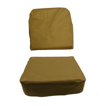 Seat Cover Drivers Or Passengers Olive Drab 1949-1956 CJ3A, CJ3B USA made