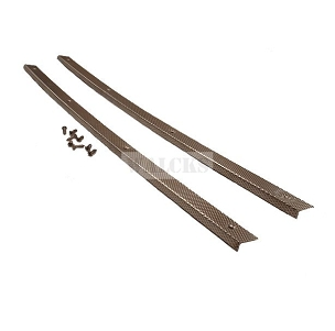 Floor Mat Strips Set of 2 1946-1963 Pick Up Truck, Station Wagon, Sedan Delivery