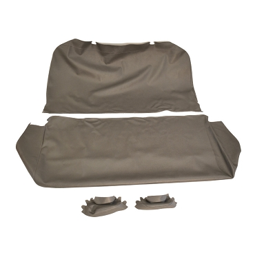 Seat Cover Assembly With Arm Rest Covers Dark Grey 1950-1963 Pick Up Trucks