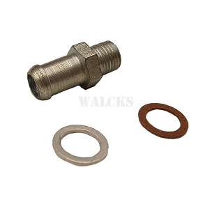Bypass Hose Fitting In Head Or Water Pump 4 Cylinder Models
