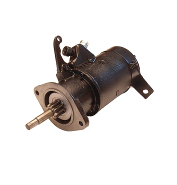 Starter 6 Volt Rebuilt MZ-4162 L & F Head CJ3A, Pick Up Truck, Station Wagon, Sedan Delivery, Jeepster