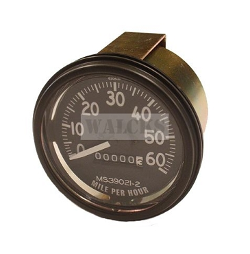 Speedometer Assembly 0-60 mph 1945-1956 CJ Models