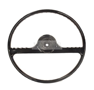 Steering Wheel Black Pick Up Truck, Station Wagon, Sedan Delivery
