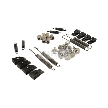 32 Piece Complete Brake Hold Down Hardware Kit 1946-1963 Truck, Wagon, Sedan Delivery, Jeepster & FC