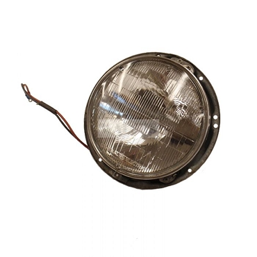 Head Light Bucket Assembly With 12V  Bulb