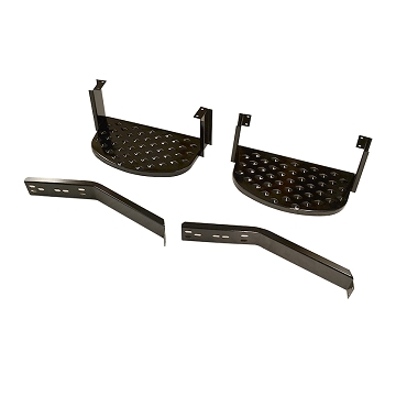 Side Entry Step Set Original Style USA Made 1955-1971 CJ5, CJ6