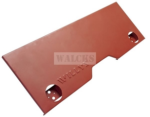 Rear Panel With Willys Stamp MB Slat Grill 1941-1942