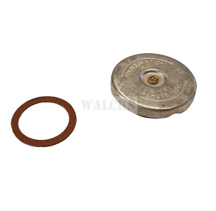 Radiator Cap Exact Reproduction For Bottom Mounted Radiator 1941-49 MB, CJ2A, Early CJ3A, PU Truck, 4WD SW