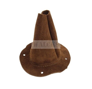 Transmission Boot Shift Lever Leather MB, GPW, Early CJ2A