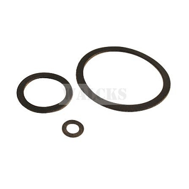 3 PC Fuel Strainer Gasket Set MB, GPW 1941- Early 1945