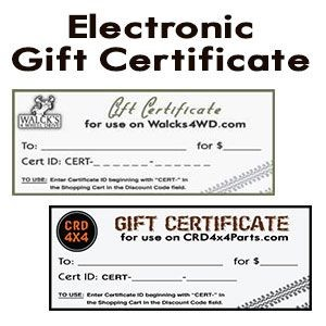 Walck's Gift Certificate